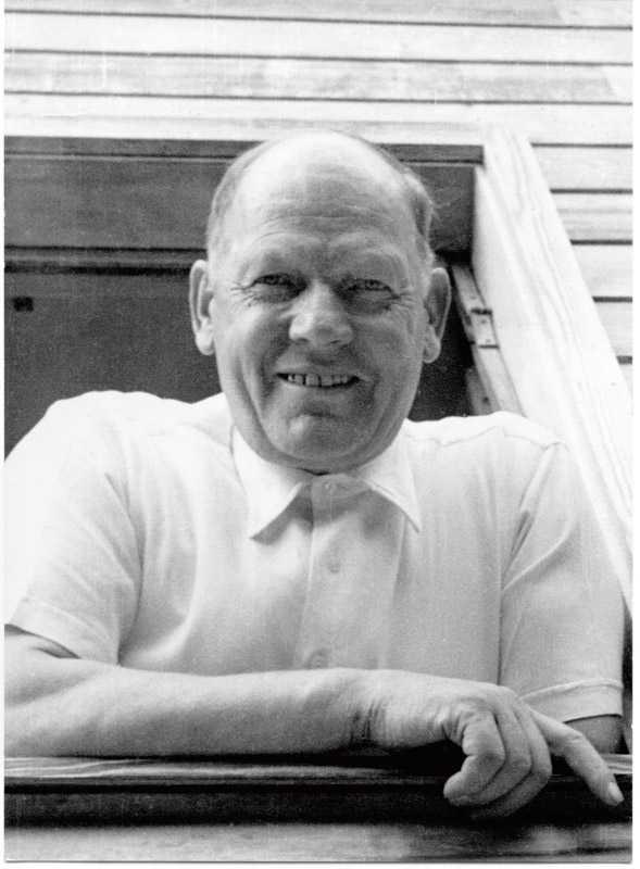 Der Gründer Emil Kägi (Bild ca. 1950)